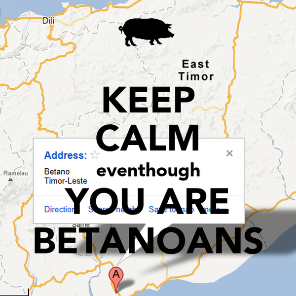 KEEP CALM eventhough YOU ARE BETANOANS