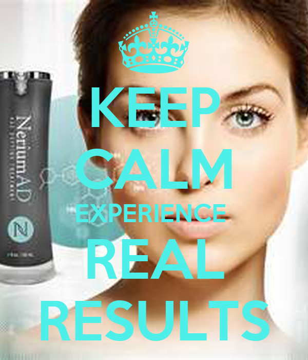KEEP CALM EXPERIENCE  REAL RESULTS