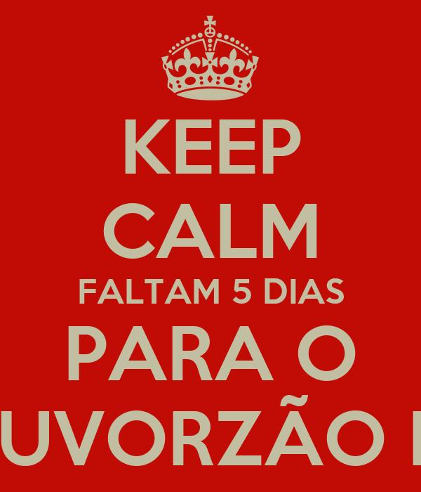 KEEP CALM FALTAM 5 DIAS PARA O LOUVORZÃO IBG