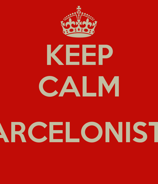 KEEP CALM  FARCELONISTA