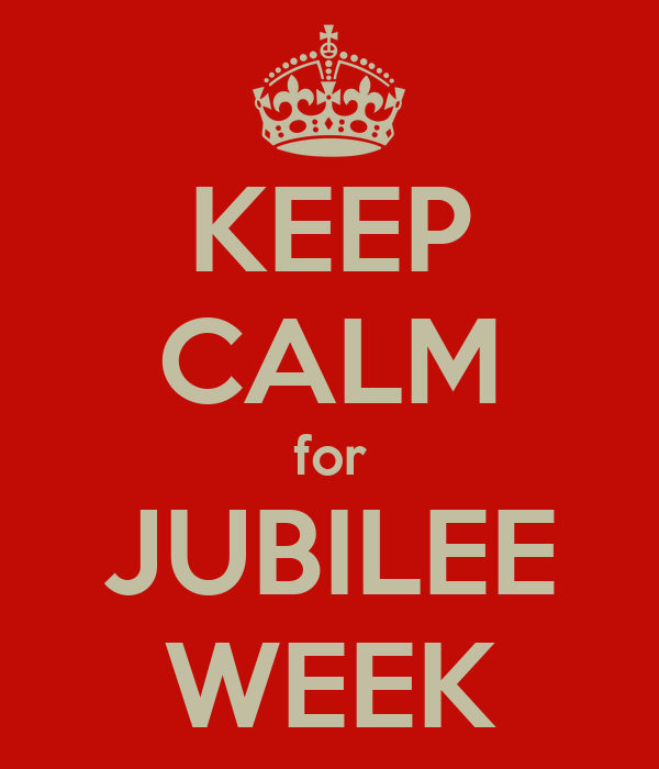 KEEP CALM for JUBILEE WEEK