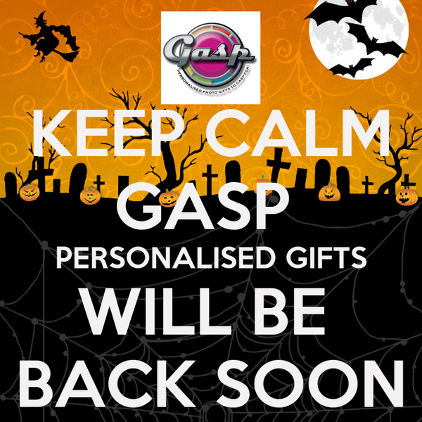 KEEP CALM GASP PERSONALISED GIFTS WILL