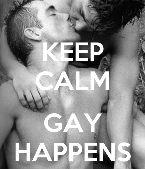 KEEP CALM  GAY HAPPENS