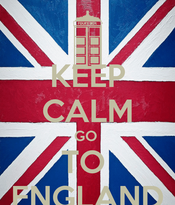 KEEP CALM GO  TO  ENGLAND