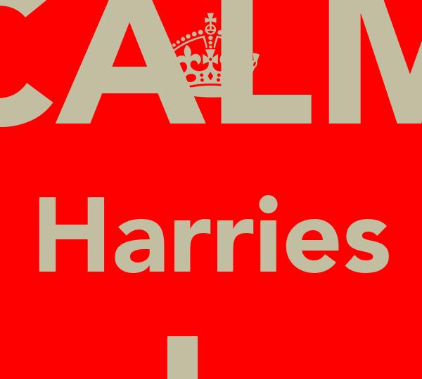 KEEP CALM Harries A sleep shhhhhhh
