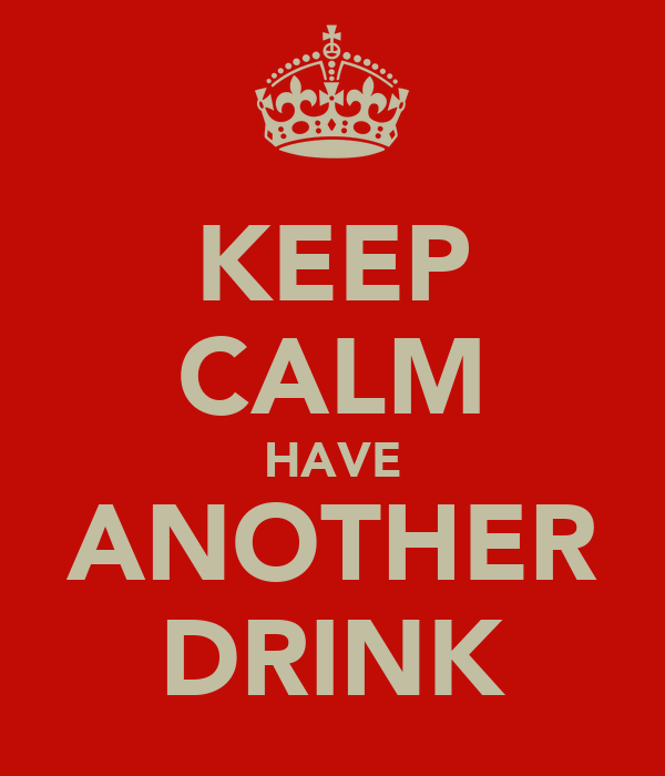 KEEP CALM HAVE ANOTHER DRINK