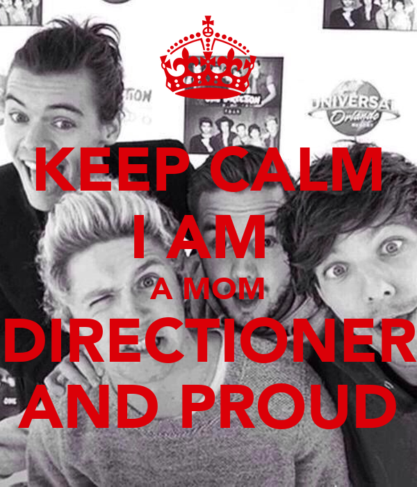 KEEP CALM I AM  A MOM DIRECTIONER AND PROUD