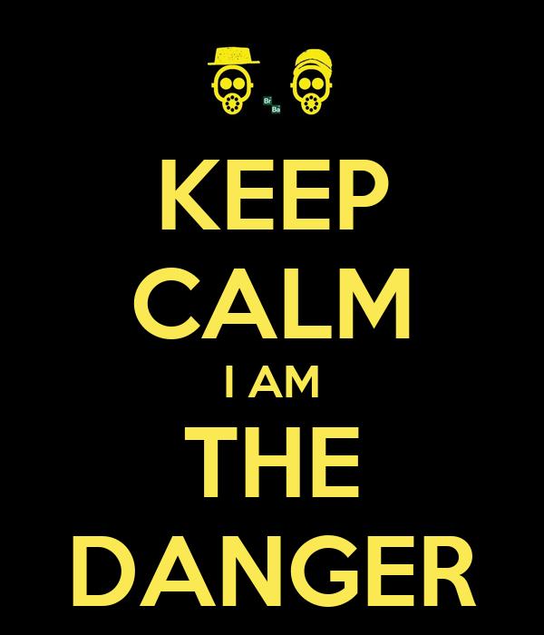 KEEP CALM I AM THE DANGER