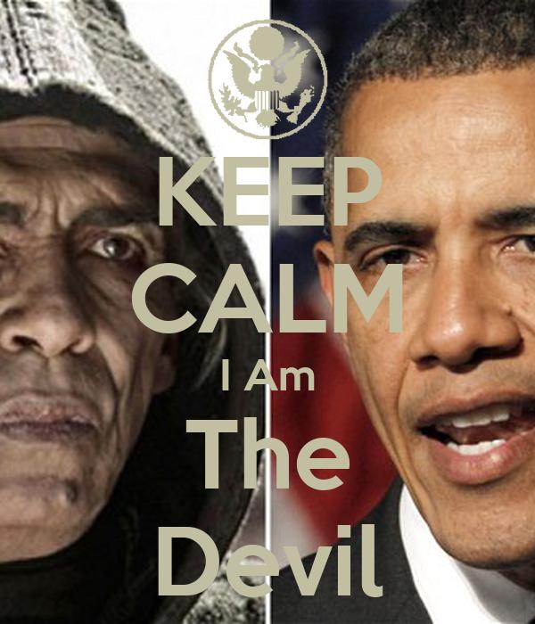 KEEP CALM I Am The Devil