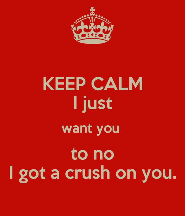 i just want u
