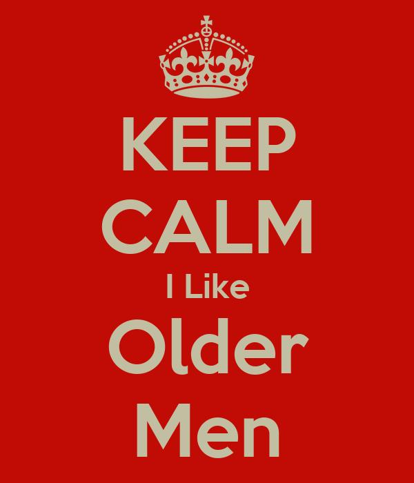 Why i like older men