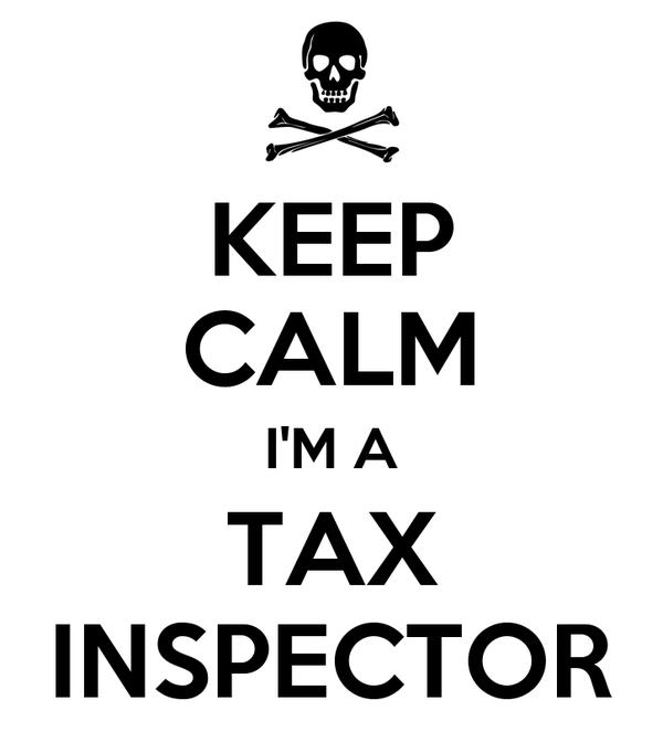KEEP CALM I'M A TAX INSPECTOR
