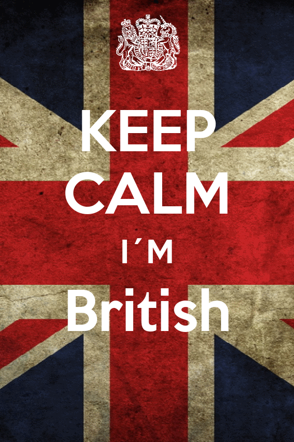 KEEP CALM I´M British