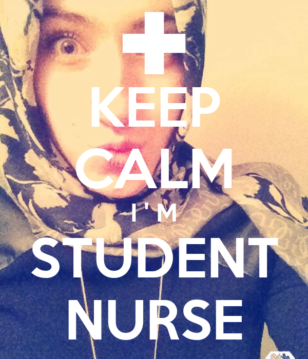 KEEP CALM I ' M STUDENT NURSE