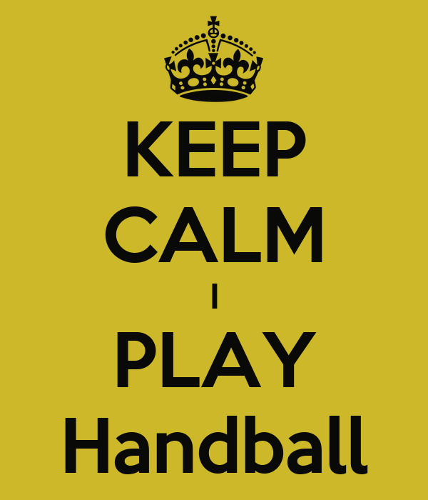 KEEP CALM I PLAY Handball