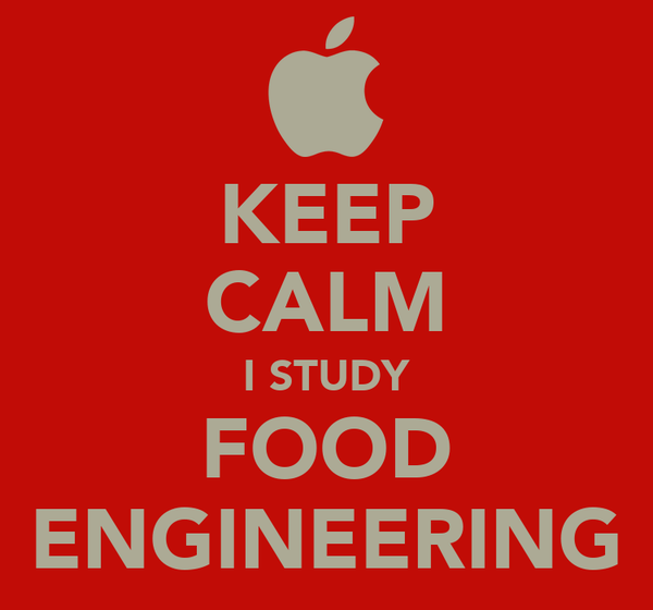 KEEP CALM I STUDY FOOD ENGINEERING