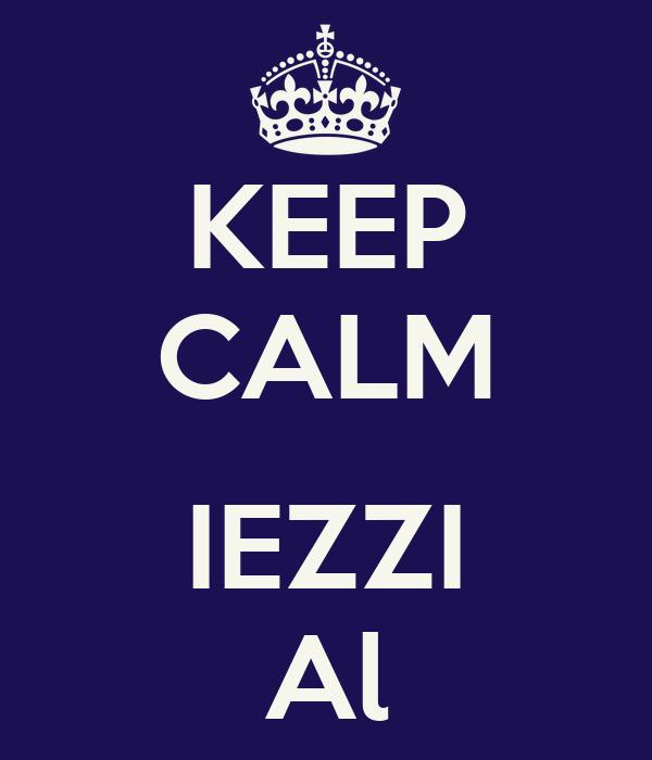 KEEP CALM  IEZZI Al
