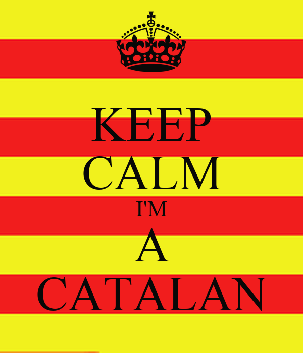 KEEP CALM I'M A CATALAN