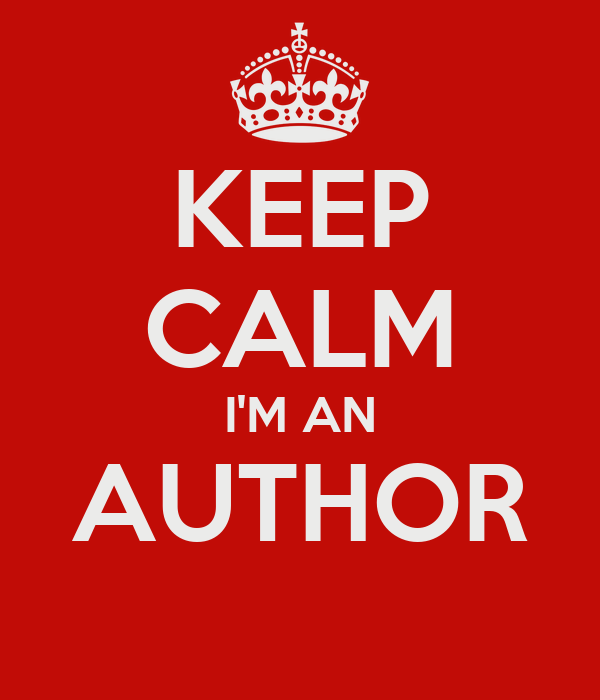 Image result for i'm an author