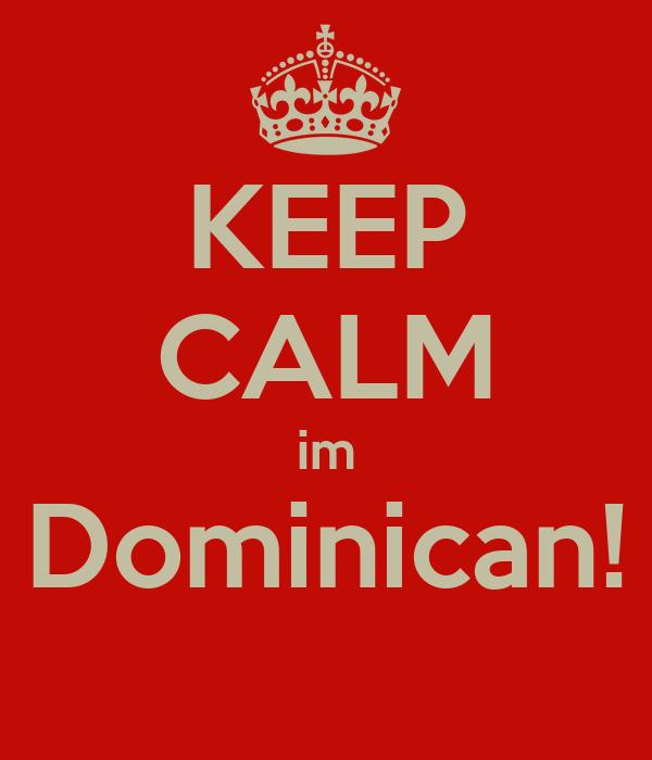 KEEP CALM im Dominican!