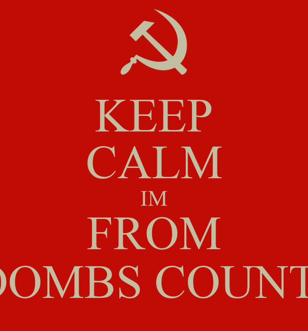 KEEP CALM IM FROM TOOMBS COUNTY
