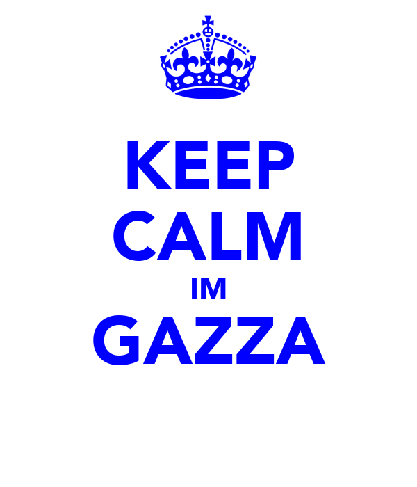 KEEP CALM IM GAZZA