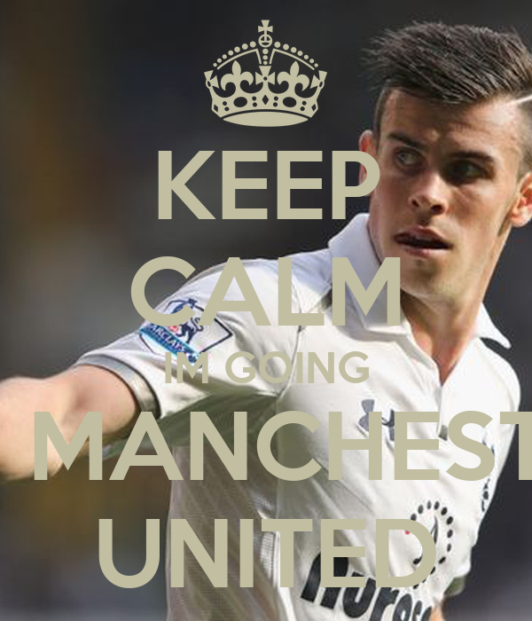 KEEP CALM IM GOING TO MANCHESTER UNITED