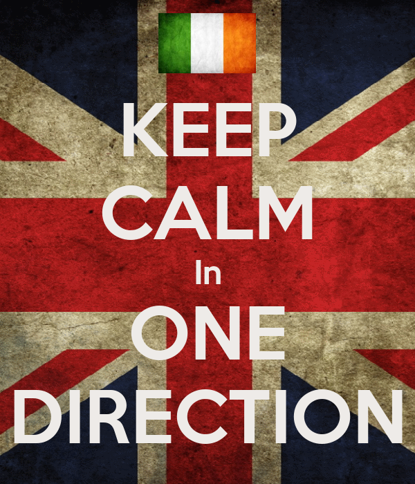 KEEP CALM In ONE DIRECTION