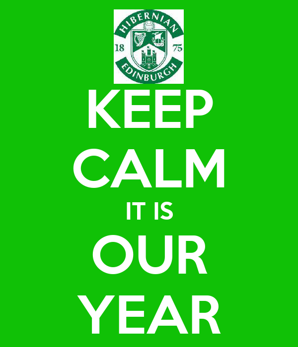 KEEP CALM IT IS OUR YEAR