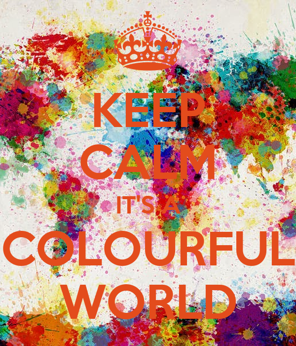 Image result for keep colourful