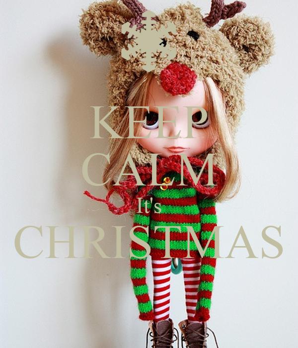 KEEP CALM It's CHRISTMAS