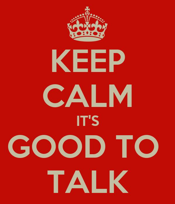 talk good