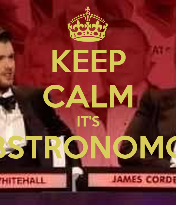 KEEP CALM IT'S LOBSTRONOMOUS