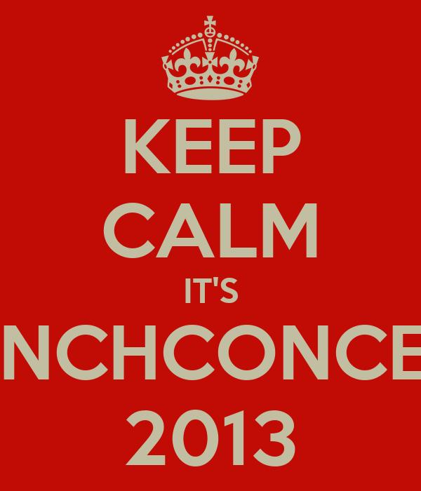 KEEP CALM IT'S LUNCHCONCERT 2013
