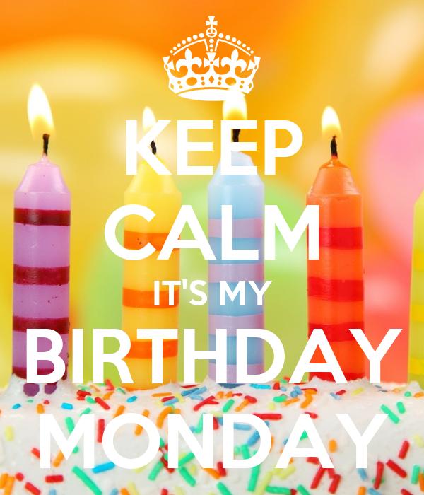 поздравления рожденным в понедельник этом