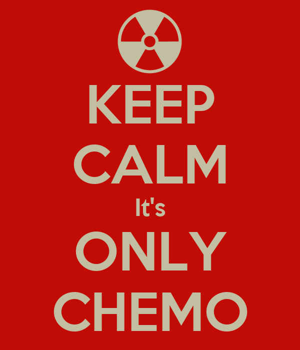 KEEP CALM It's ONLY CHEMO