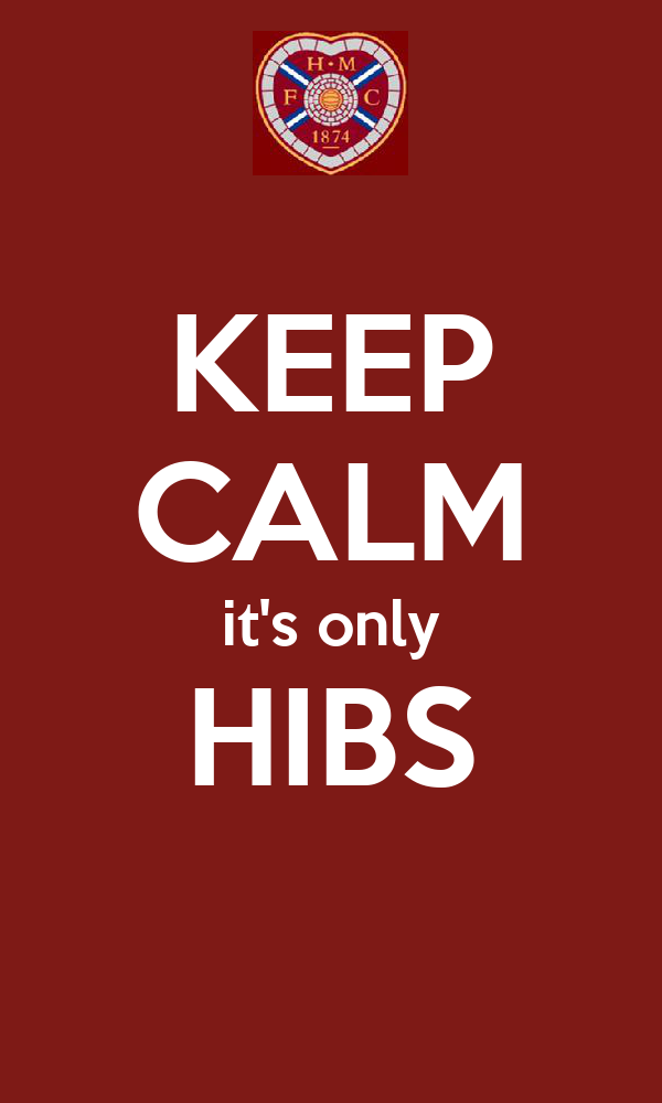 KEEP CALM it's only HIBS