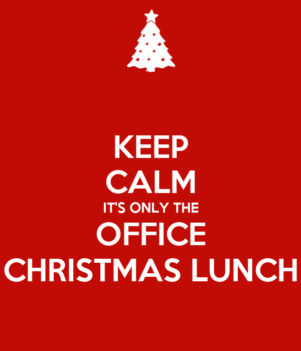 office christmas lunch