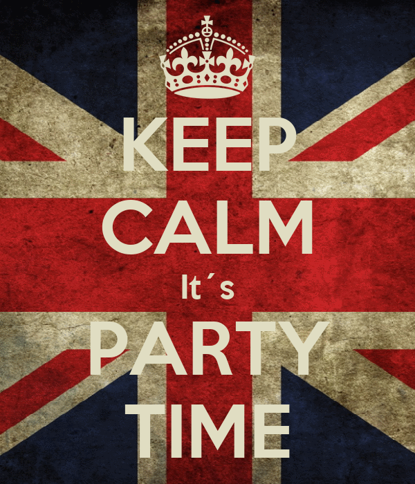 KEEP CALM It´s PARTY TIME