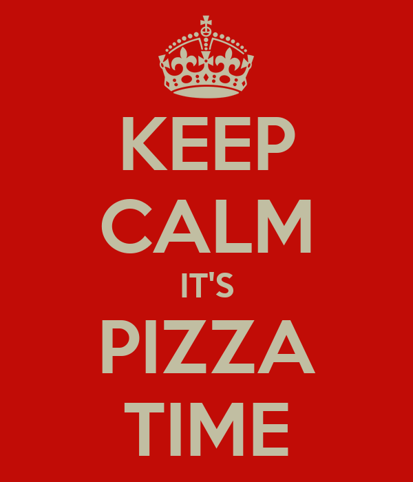 Image result for it's pizza time