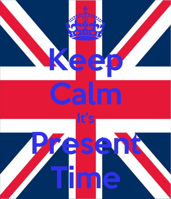 Keep Calm It's Present Time