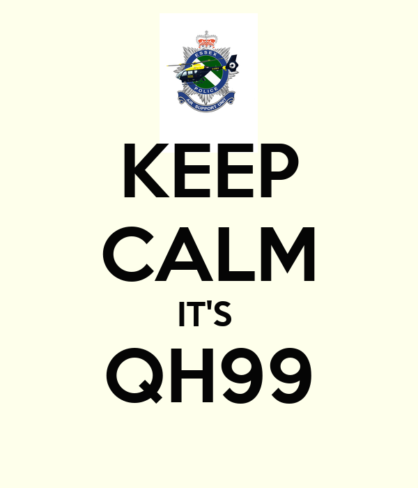 KEEP CALM IT'S  QH99