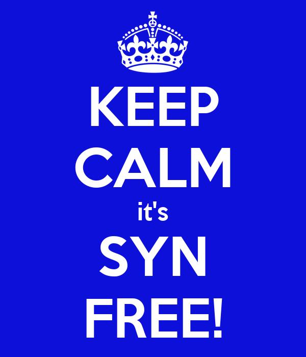 KEEP CALM it's SYN FREE!