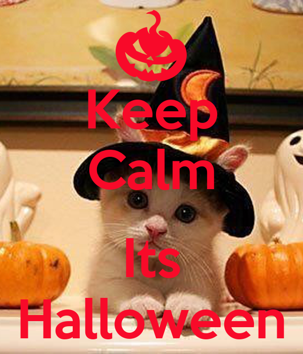 Keep Calm  Its Halloween