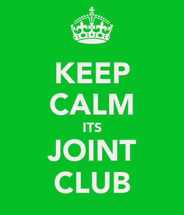 KEEP CALM ITS JOINT CLUB