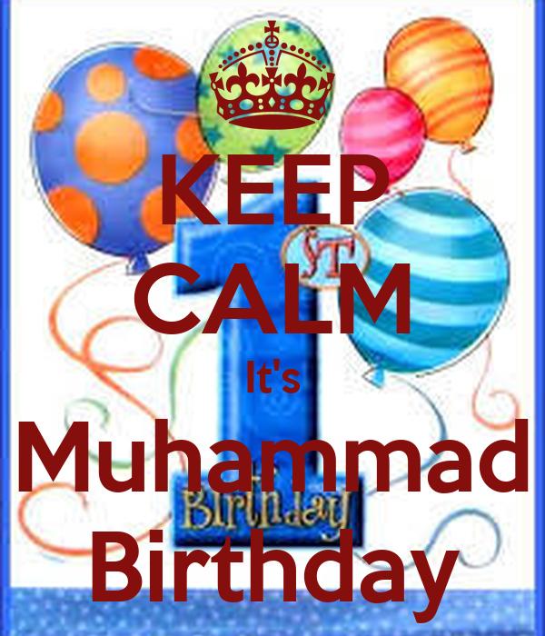 KEEP CALM It's Muhammad Birthday