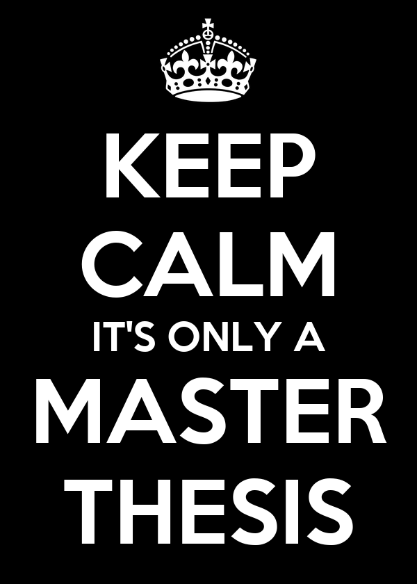 Buy a master thesis