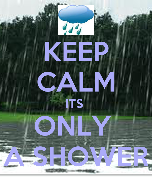 KEEP CALM ITS  ONLY  A SHOWER