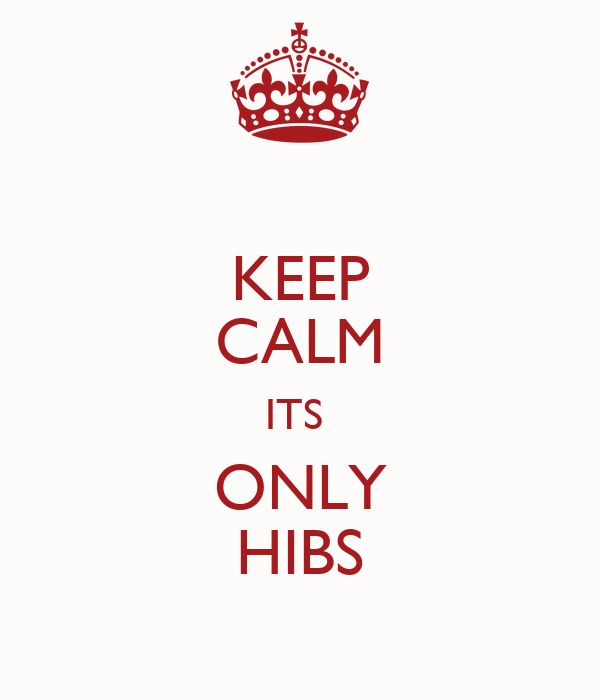 KEEP CALM ITS  ONLY HIBS