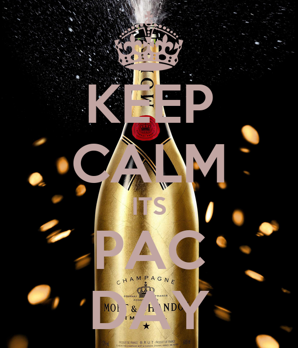 KEEP CALM ITS PAC DAY